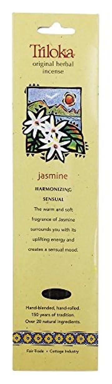 完全に乾く若さ特異性Triloka - 元の草の香のジャスミン - 10棒