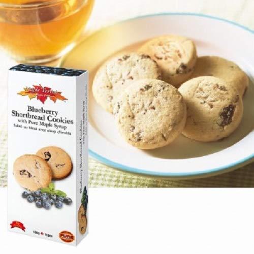 メープルテルワー (Maple Terroir) ブルーベリー&メープルシロップ ショートブレッド クッキー 1箱【カナダ 海外土産 輸入食品 スイーツ】
