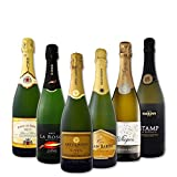 ≪KBWINE BEST6≫京橋ワイン・ベストセラー・スパークリング 6本大満足セット 白スパークリング750ml 6本