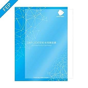 ANYCUBIC PHOTON PHOTON S FEPフィルム 専用膜 光造形 LCD SLA DLP 3Dプリンター用 FEP Film 1pcs (200 x 140 x 0.15mm)