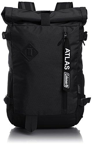 [コールマン] リュックサック アトラスロールトップ ATLAS (アイスグレー) ブラック F