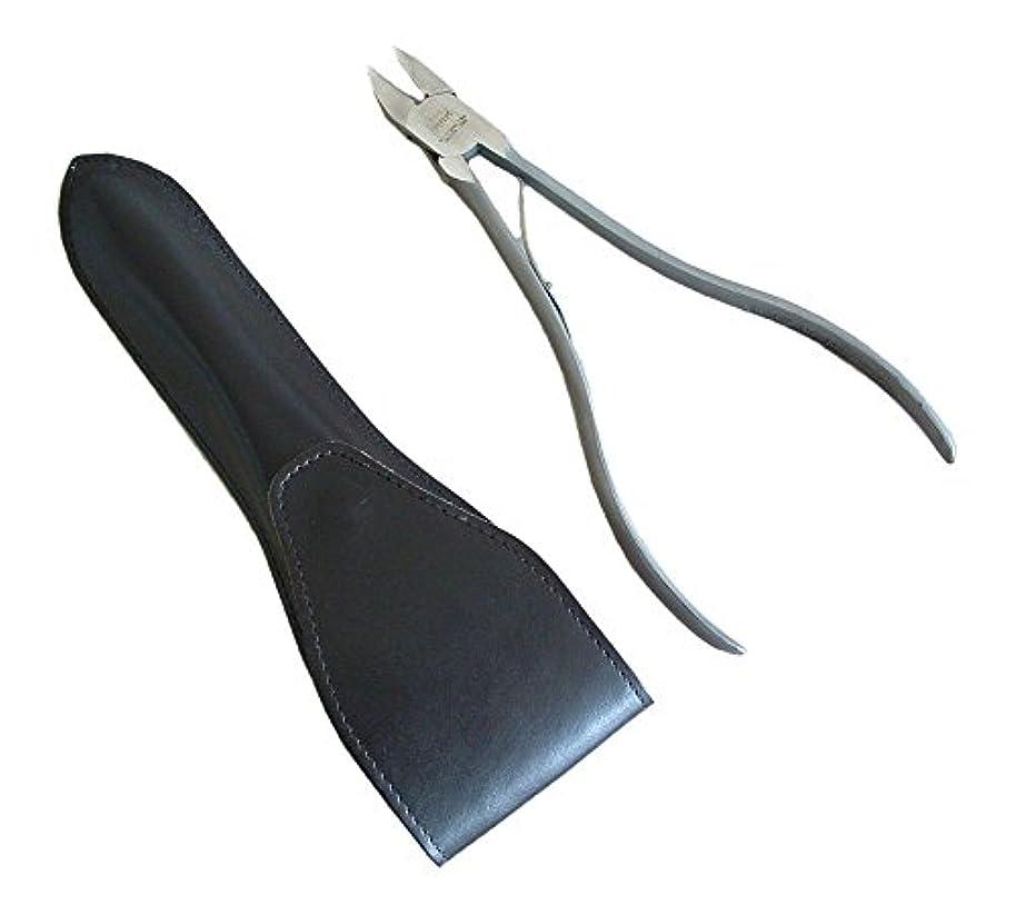 ハウス競争ゴミ箱タナカマイスター ロングニッパー型爪切り(レザーケース入り)