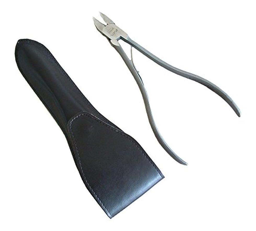 不注意テクトニック初心者タナカマイスター ロングニッパー型爪切り(レザーケース入り)