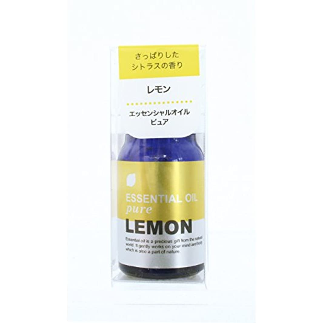 重なる否認する考えプチエッセンシャルオイル レモン