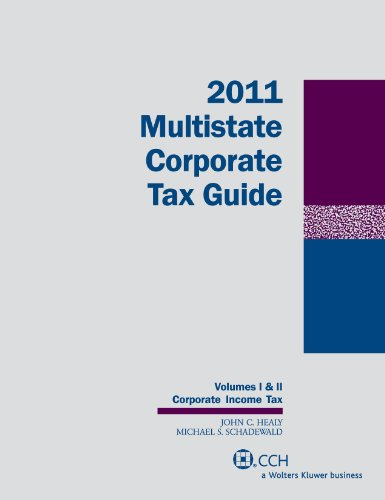 Download Multistate Corporate Tax Guide 2011 0808023187