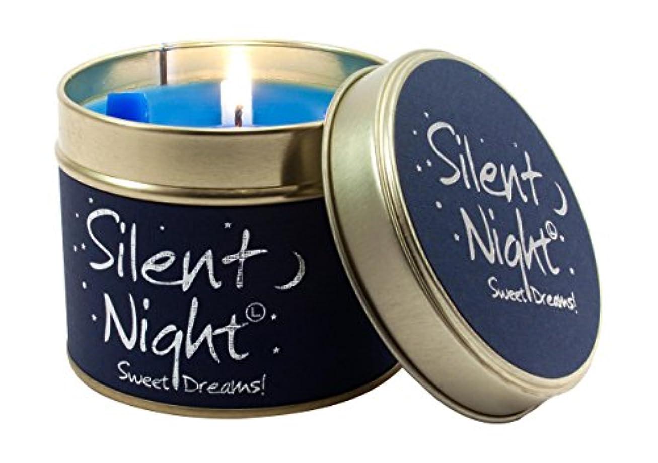 人差し指頭一流Lily Flame Scented Candle Tin - Silent Night