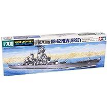 タミヤ 1/700 ウォーターラインシリーズ No.614 アメリカ海軍 戦艦 ニュージャージー プラモデル 31614