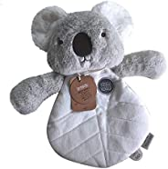 Kelly Koala Comforter Breathable and Soft Security Blanket, Plush Toy, Lightweight, Perfect Companion for Sleeping, Bunny De