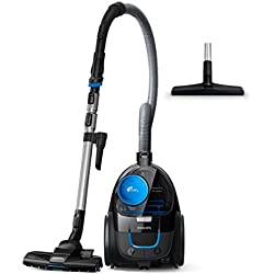 Philips FC9331/09 PowerPro Compact Bagless Vacuum Cleaner 650W, Black & Blue