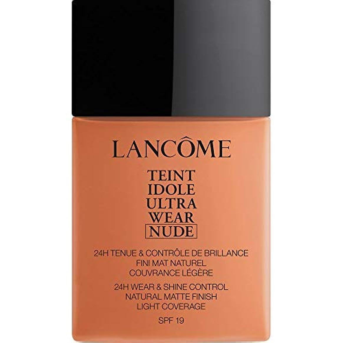 精緻化エレクトロニック望ましい[Lanc?me ] ランコムTeintのIdole超摩耗ヌード財団Spf19の40ミリリットル10.2 - ブロンズ - Lancome Teint Idole Ultra Wear Nude Foundation SPF19 40ml 10.2 - Bronze [並行輸入品]