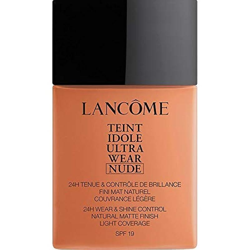 権利を与える参加する担当者[Lanc?me ] ランコムTeintのIdole超摩耗ヌード財団Spf19の40ミリリットル10.2 - ブロンズ - Lancome Teint Idole Ultra Wear Nude Foundation SPF19...