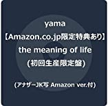 【Amazon.co.jp限定】the meaning of life (初回生産限定盤) (アナザーJK写 Amazon ver.付)