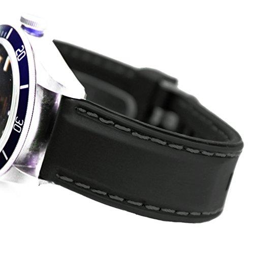 [해외](도노로로지오) DonOrologio 시계 실리콘 벨트 직 강 고무 밴드 穴留 핀 버클 방수 다이빙 스포츠 (블랙 스티치)/(Donororiorji) DonOrologio Wristwatch Silicon Belt Direct Can Rubber Band Hold Pin Buckle Waterproof Diving Sports (Black Sti...
