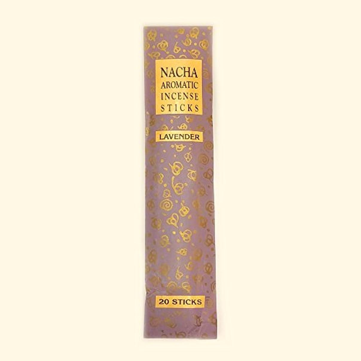 一般化するの前でつなぐ【NACHA】NACHA NATURALS インセンス ラベンダー