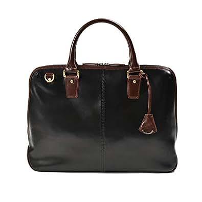 ビジネスバッグ メンズ スリムなのに大容量 手提げ・ショルダーの2WAY鞄 男女兼用 ブリーフケース 撥水加工 A4 B4 PC対応 二式室 出張 通勤 通学に ギフト プレゼントにもぴったり Jack&Chris