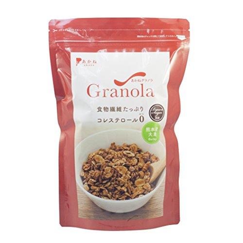あかねグラノラ 大麦 黒糖密 スタンドP ラージ 420g