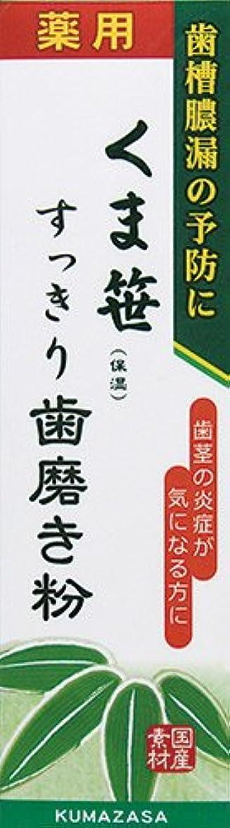 病な伝統不透明な薬用くま笹すっきり歯磨き粉 120g