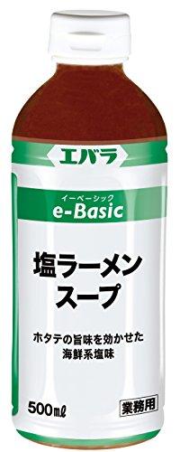 eBasic 塩ラーメンスープ 500ml