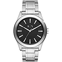 Armani Exchange Silver-Tone Stainless Steel Watch AX2320