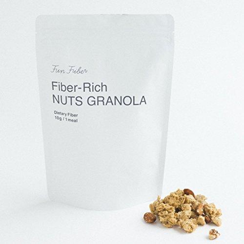 New! 食物繊維がふつうじゃない ナッツグラノーラ 250g/少しだけ、野菜のことを忘れてもいい。