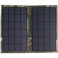 Fenteer 折り畳み式 ソーラー 充電器 ソーラーパネル 6W ミニ 汎用性