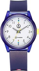[キューアンドキュー スマイルソーラー]Q&Q SmileSolar 腕時計 ソーラー アナログ マッチングスタイル 10気圧防水 直径36mm ブルー RP26-011 メンズ