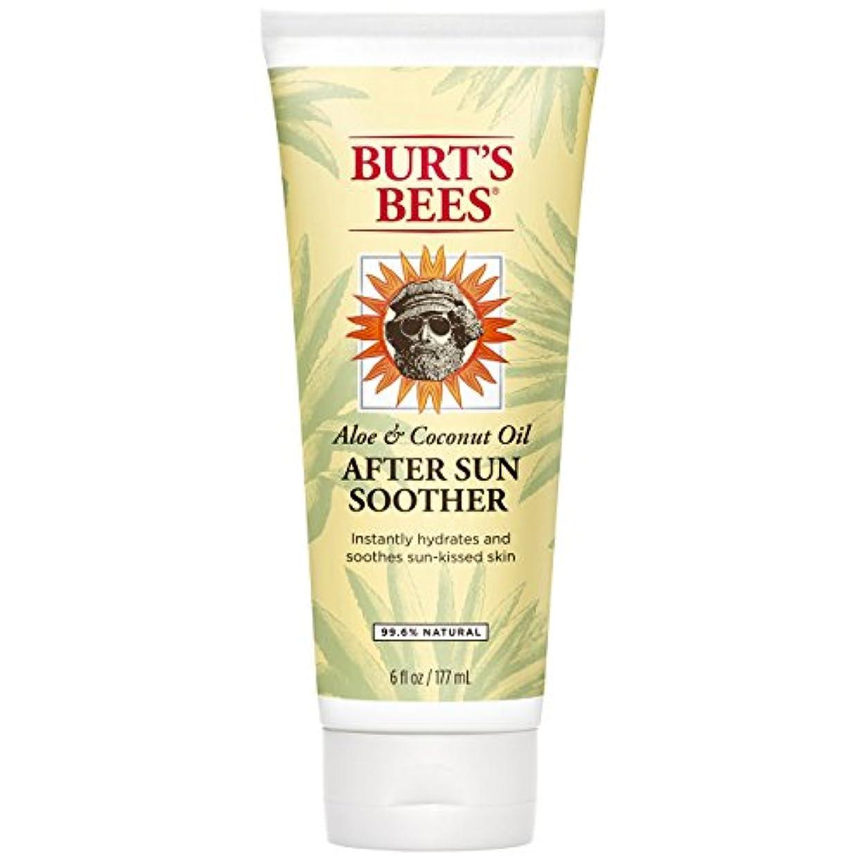 コマンドライラック好色なバーツビーズ 日焼け後の肌に潤いを After Sun Soother177ml**並行輸入