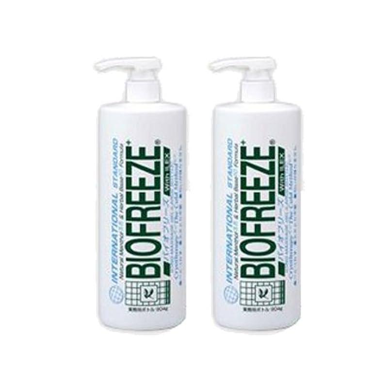 化学薬品予定ハッチバイオフリーズ 業務用ボトルタイプ(904g) アイシングマッサージジェル ×2個