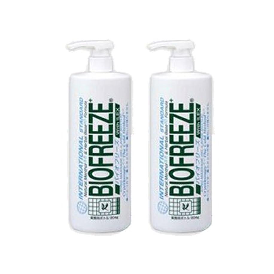 愛情深いの間で化合物バイオフリーズ 業務用ボトルタイプ(904g) アイシングマッサージジェル ×2個
