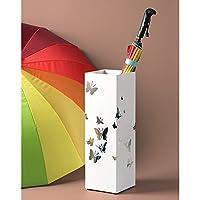 JERPOZ 傘立てクリエイティブ傘立て家庭用錬鉄傘樽収納バケット床置き傘立て 傘立て (Color : D)