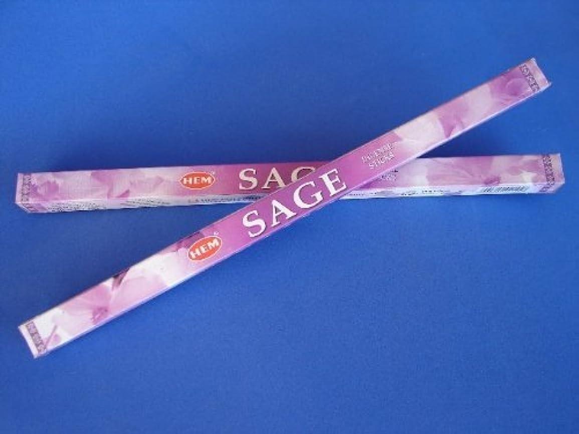 人工ハンバーガー変化する4 Boxes of Sage Incense Sticks