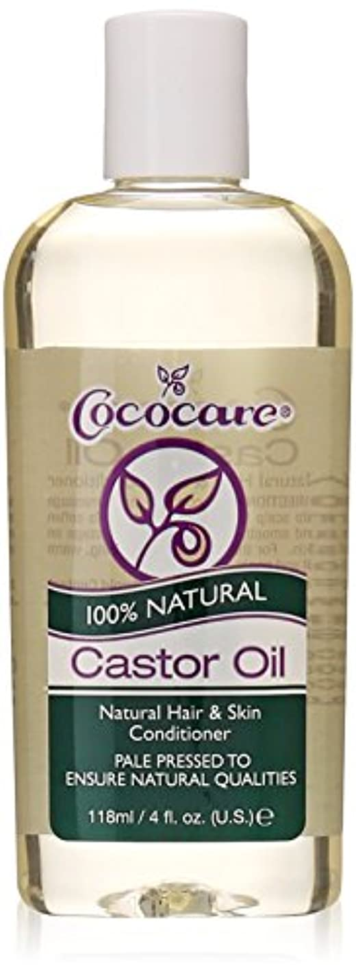 プレート写真消去Cococare, 100% Natural Castor Oil, 4 fl oz (118 ml)