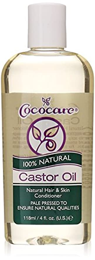 援助する率直なアラブCococare, 100% Natural Castor Oil, 4 fl oz (118 ml)