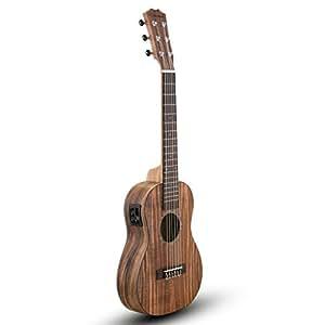 Caramel カラメル CB200G 6弦 31インチ アカシア単板 ウクレレ トラベルギター内蔵ピックアップ&チューナー