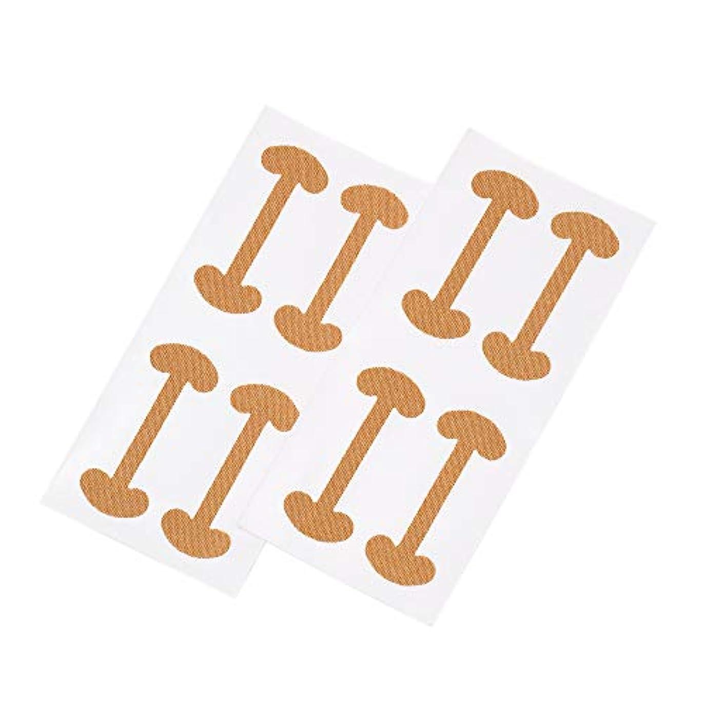 足外向き平行Decdeal 8ピース 巻き爪 ケアテープ まきずめ 矯正 巻きヅメ 矯正 爪の治療 爪の矯正パッチ 爪リフタ