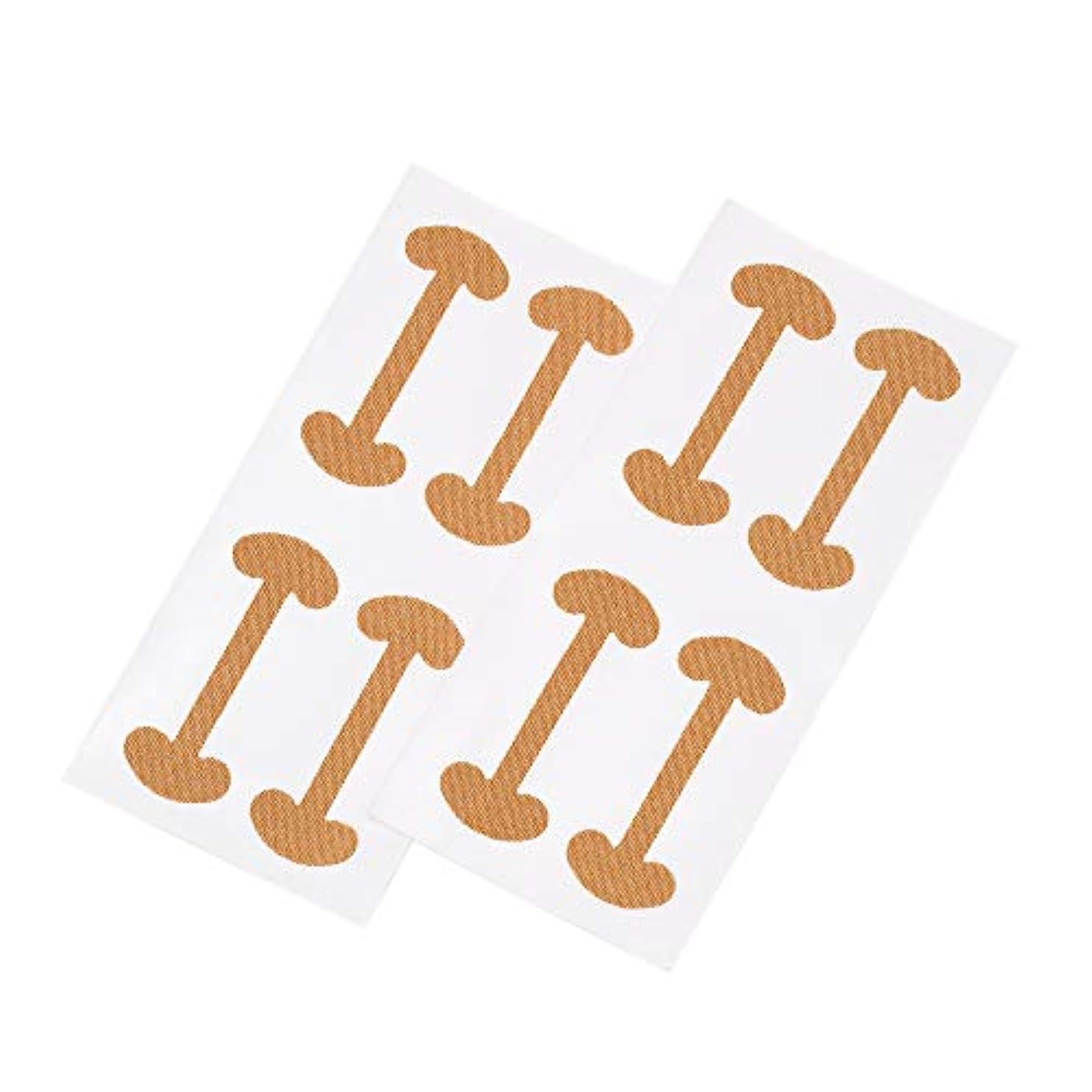 呼吸する不足の前でDecdeal 8ピース 巻き爪 ケアテープ まきずめ 矯正 巻きヅメ 矯正 爪の治療 爪の矯正パッチ 爪リフタ