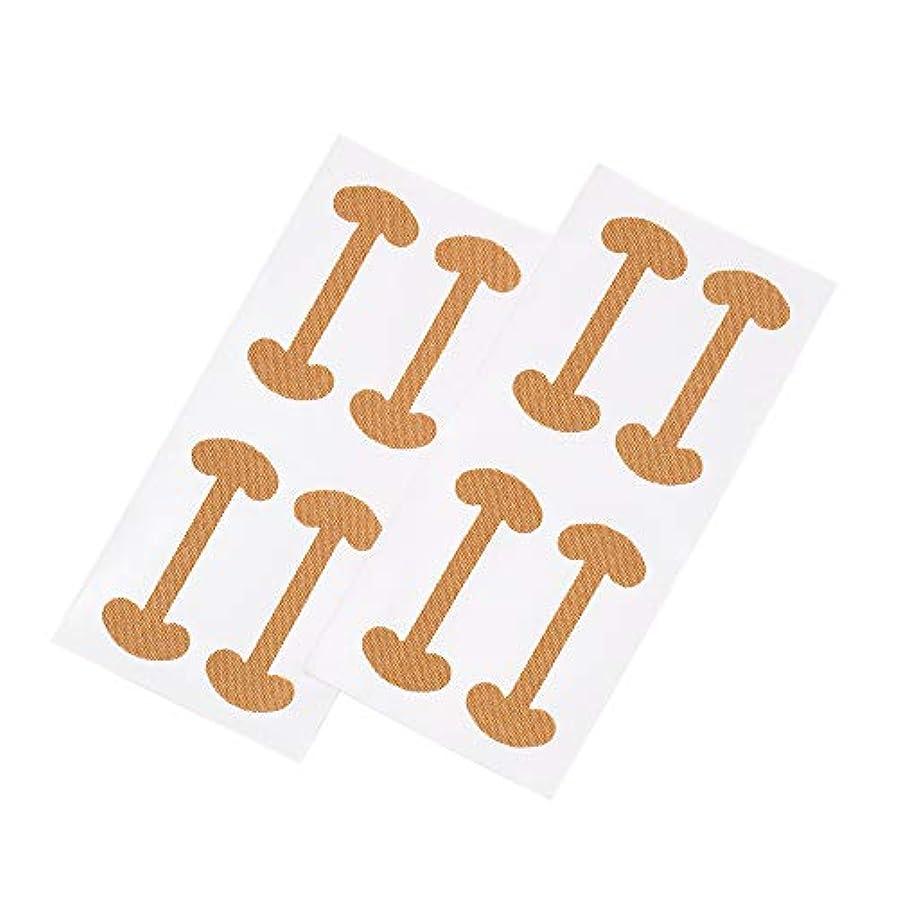 Decdeal 8ピース 巻き爪 ケアテープ まきずめ 矯正 巻きヅメ 矯正 爪の治療 爪の矯正パッチ 爪リフタ