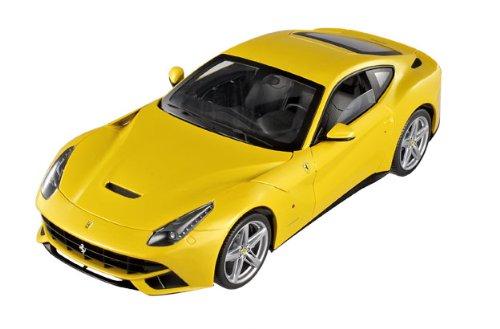 MATTEL 1/18 Ferrari F12 berlinetta イエロー ブラックインテリア