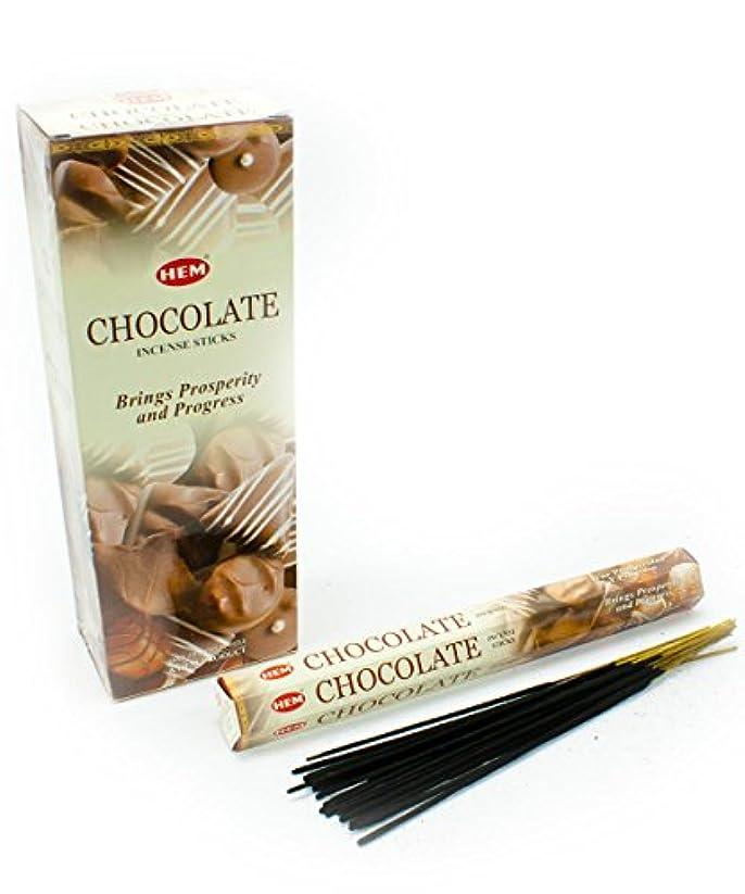 狂人エンターテインメント浴室HEM(ヘム)社 チョコレート香 スティック CHOCOLATE 6箱セット