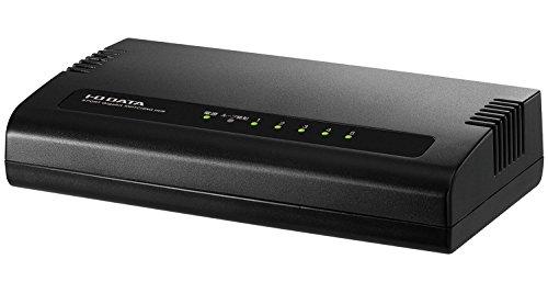 I-O DATA ネットワークハブ/LANハブ/スイッチングハブ Giga対応/5ポート/省電力/マグネット付 ETG-ESH05K2MB