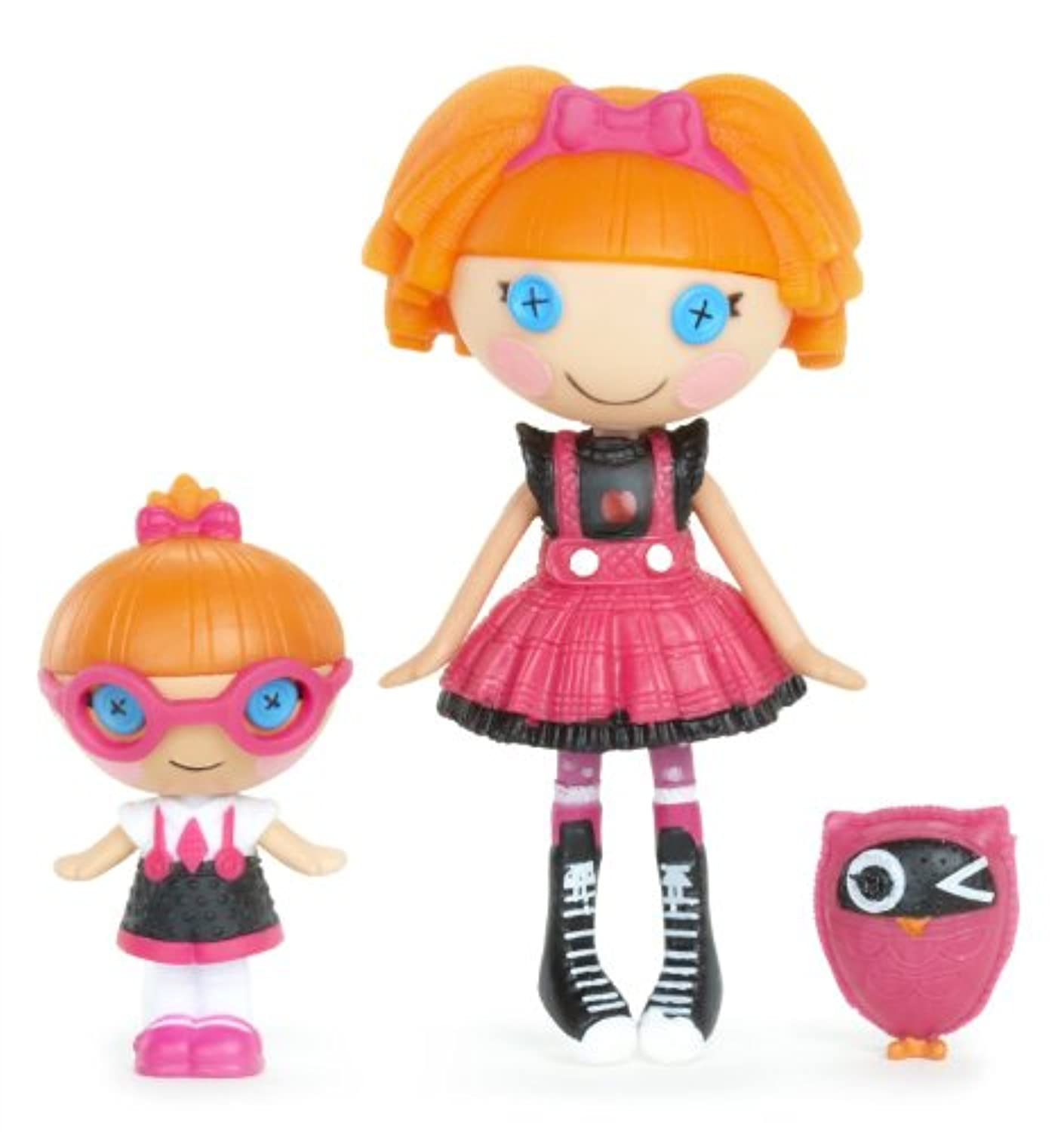 輸入ララループシー人形ドール Lalaloopsy Mini Littles Doll, Bea Spells-A-Lot/Specs Reads-A-Lot [並行輸入品]