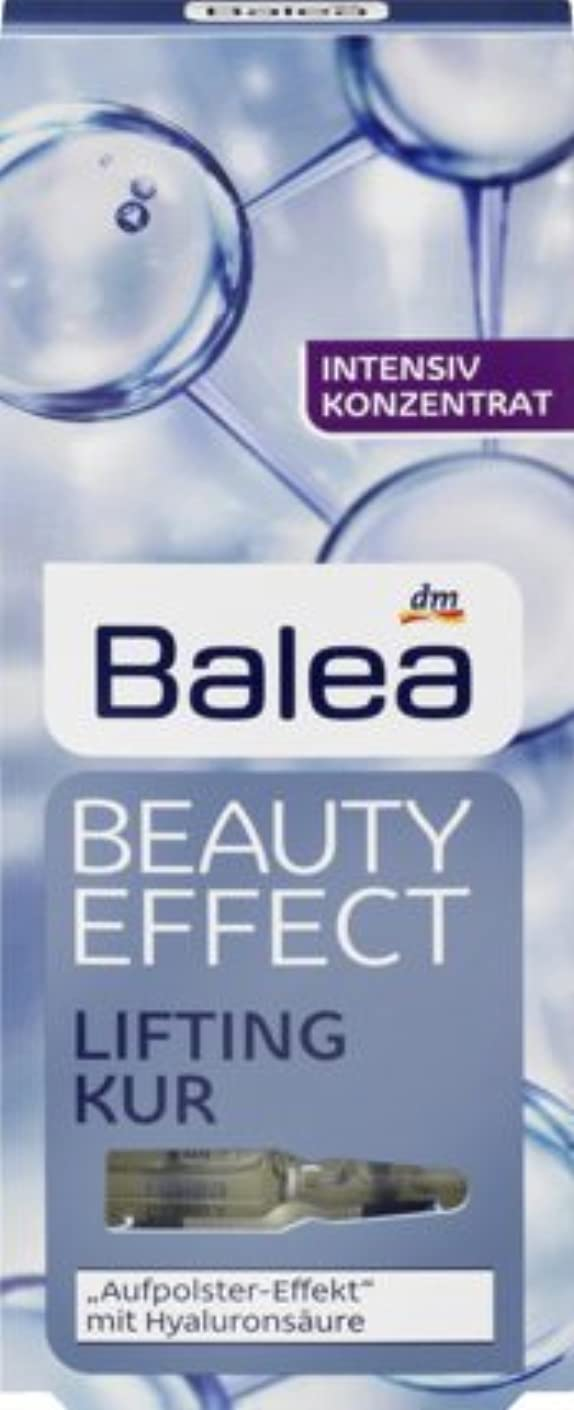行き当たりばったり十クラウンBalea Beauty Effect Lifting Kur, 6er Pack (6x7x1ml)