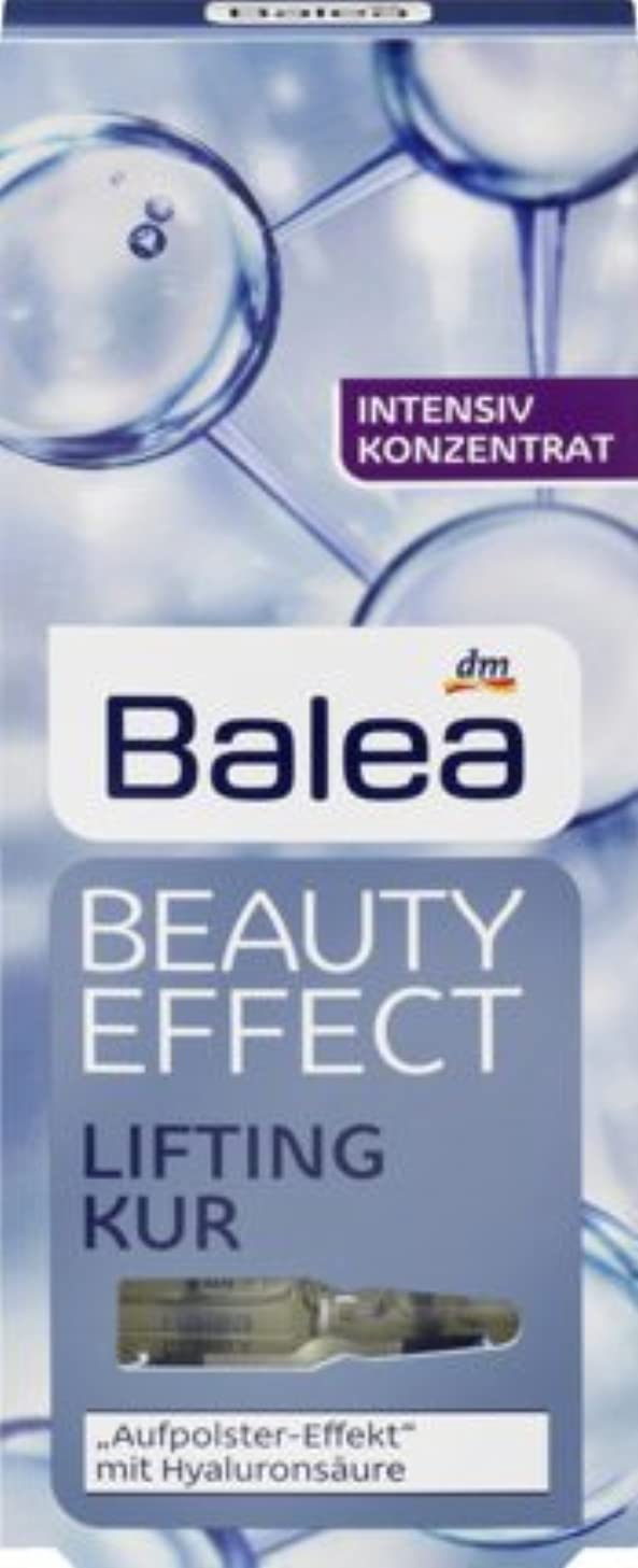 バリー半円結論Balea Beauty Effect Lifting Kur, 6er Pack (6x7x1ml)