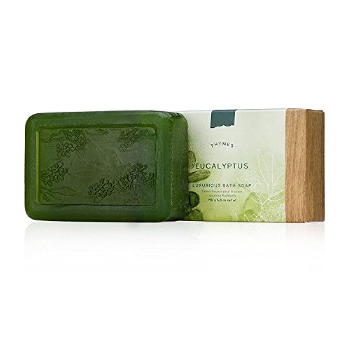 イタリック回復する自分のためにタイムズ Eucalyptus Luxurious Bath Soap 190g/6.8oz