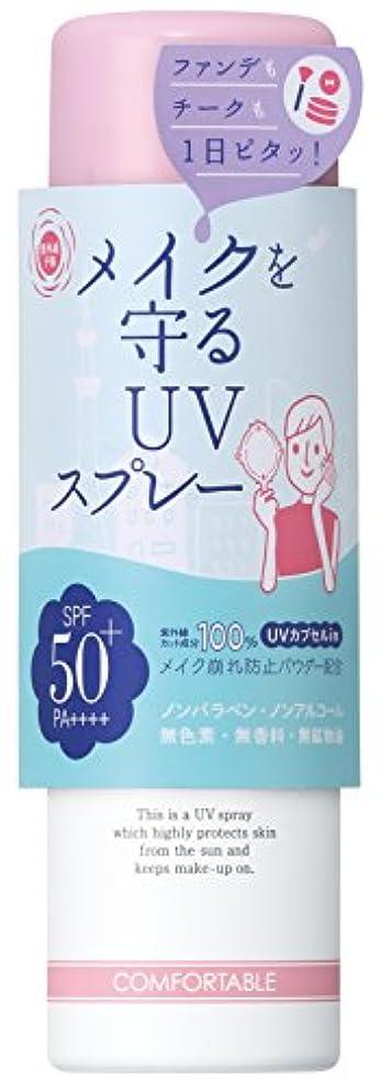 拒絶流行中毒紫外線予報 メイクを守るUVスプレー60g