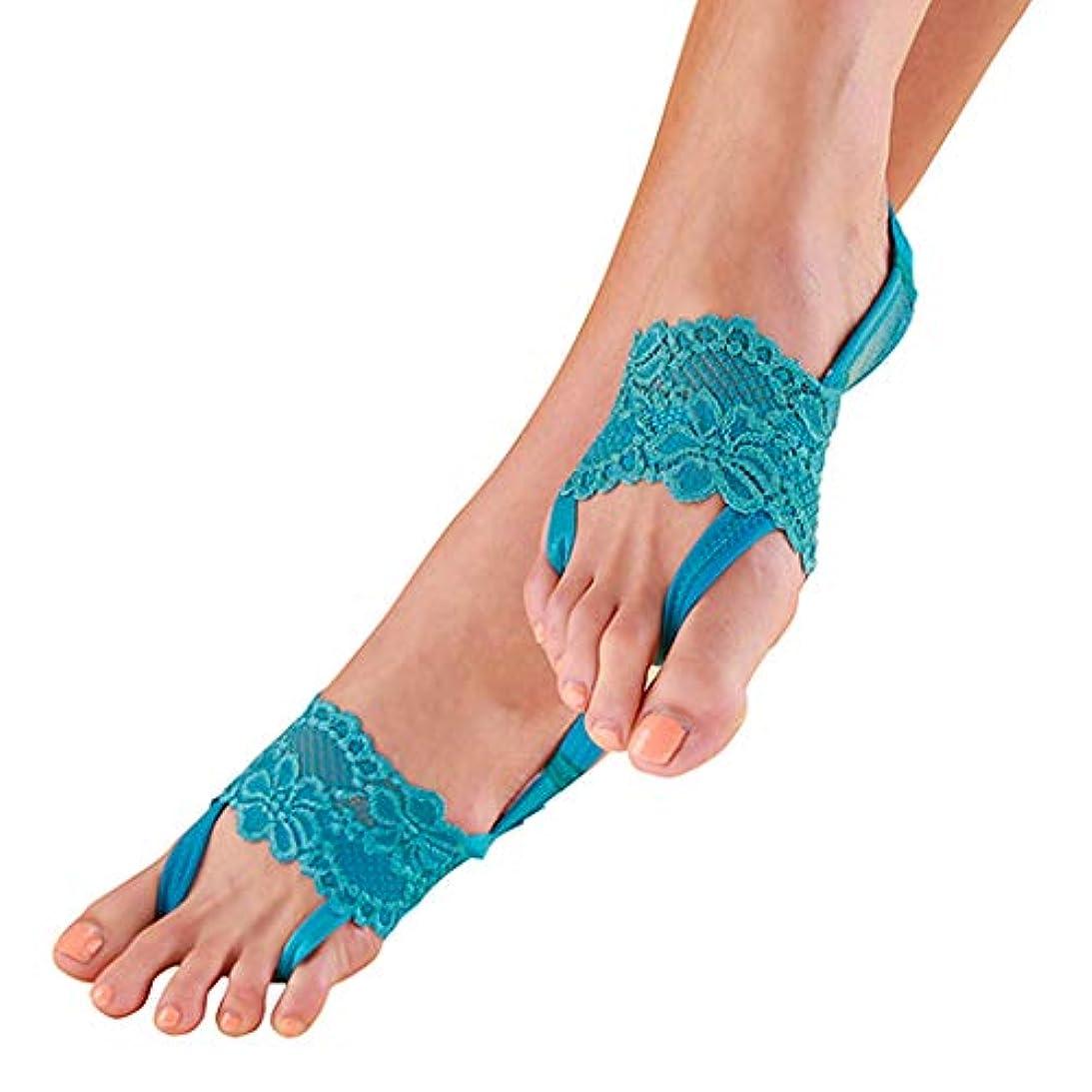 相関する捧げるインディカ累計20万足売れています 足が疲れにくい アシピタ 【 ターコイズブルー Mサイズ ソックス 】むくみ 冷え 美脚 美姿勢をサポート 23.5-25cm