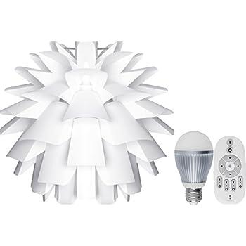 ottostyle.jp 【北欧風デザイン照明 】ペンダントランプ PINECONE(パインコーン) 【直径43cm】&(調光・調色)LED電球2個&専用リモコン三点セット