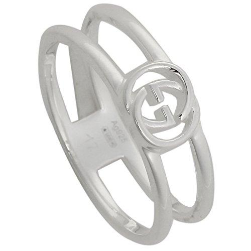 [グッチ] リング アクセサリー レディース GUCCI 298036 J8400 8106 インターロッキングGチャーム 指輪 シルバー [並行輸入品]