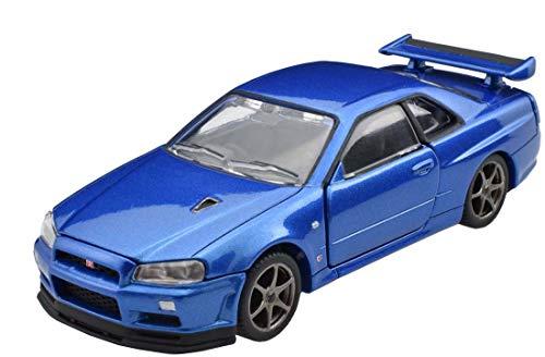 トミカプレミアム RS 日産 スカイライン GT-R V-spec II Nur (ベイサイドブルー)