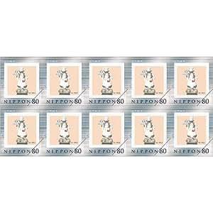 わちふぃーるど 80円フレーム切手10枚セット シェフ ダヤン